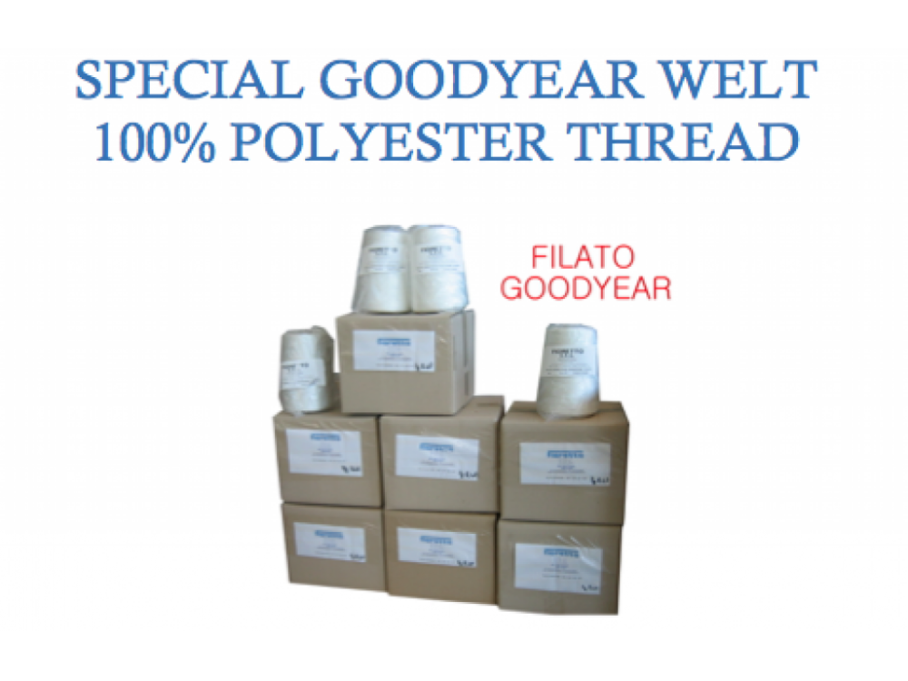 GOODYEAR WELTED 100% POLYESTER THREAD