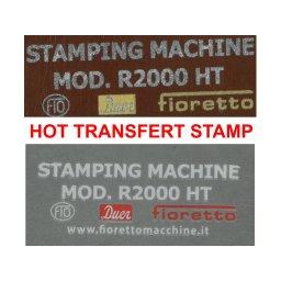 HOT TRANSFERT STAMPS
